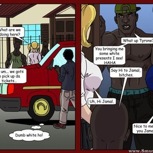 The Road Trip - Amy and Brooke Porn Comic Interracial-Comics 008
