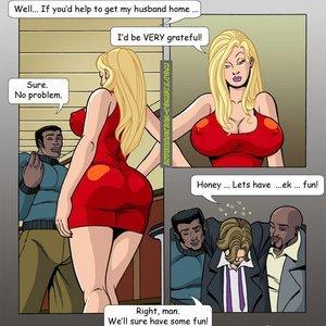 Wives Wanna Have Fun Too PornComix Interracial-Comics 005
