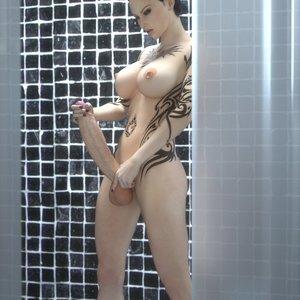 Porn Comics - Zoey Futa in Shower PornComix