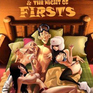 Porn Comics - A Blizzard  Night of Firsts Cartoon Comic