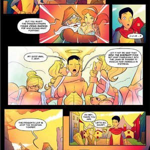 DaYounguns  Dragon - Issue 2 Porn Comic JAB Comics 006