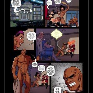 Omega Girl - Issue 5 PornComix JAB Comics 010
