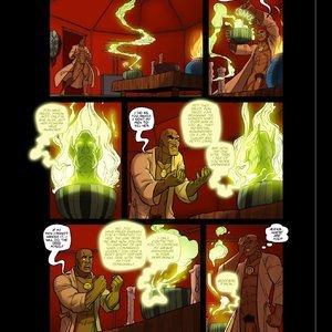 Omega Girl - Issue 5 PornComix JAB Comics 013
