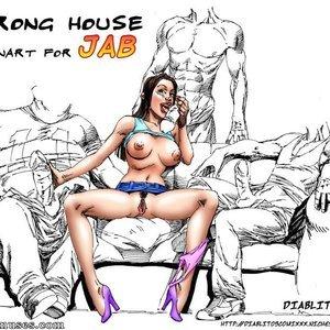 Other Cartoon Comic JAB Comics 254