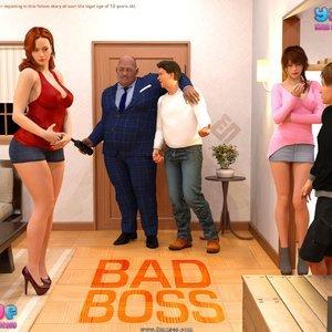 Porn Comics - Bad Boss – Issue 1 Cartoon Porn Comic