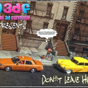 Dont Leave Him Cartoon Comic Your3DFantasy Comics 001