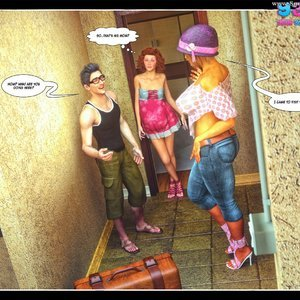 Dont Leave Him Cartoon Comic Your3DFantasy Comics 012