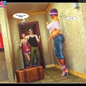 Dont Leave Him Cartoon Comic Your3DFantasy Comics 014