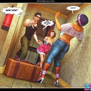 Dont Leave Him Cartoon Comic Your3DFantasy Comics 020