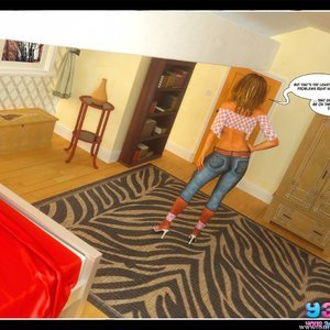 Dont Leave Him Cartoon Comic Your3DFantasy Comics 024