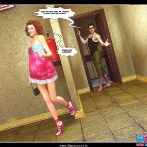Dont Leave Him Cartoon Comic Your3DFantasy Comics 033