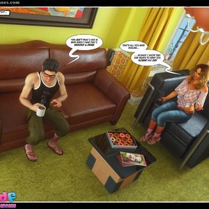 Dont Leave Him Cartoon Comic Your3DFantasy Comics 037