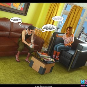 Dont Leave Him Cartoon Comic Your3DFantasy Comics 040