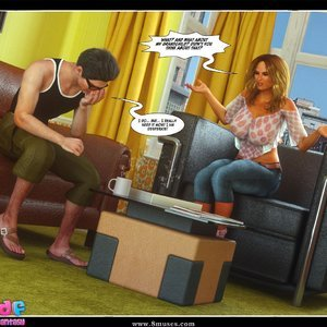 Dont Leave Him Cartoon Comic Your3DFantasy Comics 042