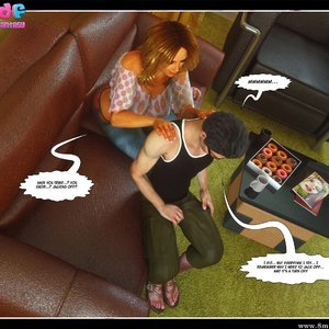 Dont Leave Him Cartoon Comic Your3DFantasy Comics 044