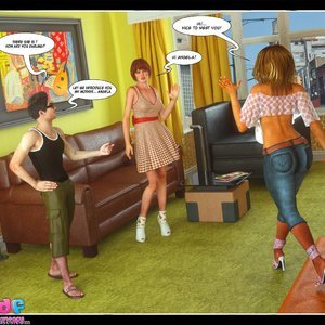 Dont Leave Him Cartoon Comic Your3DFantasy Comics 109