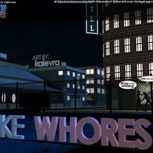 Like Whores Cartoon Porn Comic Your3DFantasy Comics 001