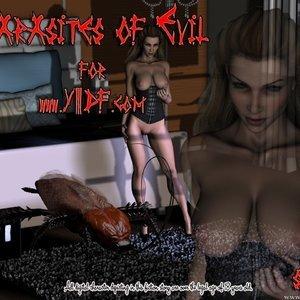 Porn Comics - Parasites of Evil Cartoon Comic