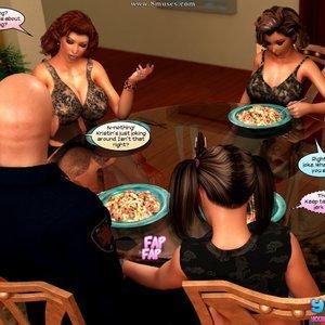Semen All Over Me Cartoon Comic Your3DFantasy Comics 039