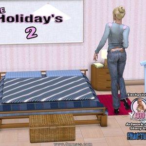 Porn Comics - The Holidays 2 Sex Comic